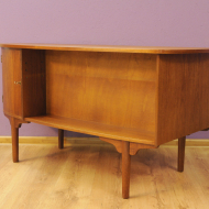 1 RETRO BIURKO DANISH DESIGN LATA 60 50 TEAK 4g