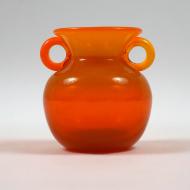 1. wazon Słuczan szkło krakowskie