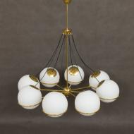 1953 italian brass floor lamp-1