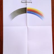 1986 International Year of Peacekeeping Stanislaw Wieczorek 34x48
