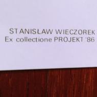 1986 International Year of Peacekeeping Stanislaw Wieczorek 34x48 napis