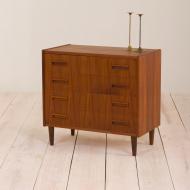 2051 Chest of 4 drawers from P. 2051 Westergaard Møbelfabrik, Silkeborg, Denmark-1