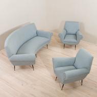 2090-1 Włoski zestaw wypoczynkowy proj. Gigi Radice - sofa-1