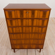 21005-Danish mid century  rosewood chest of drawers from the 60s-10