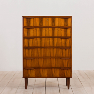 21005-Danish mid century  rosewood chest of drawers from the 60s-3