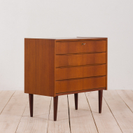 21006-Danish teak dresser with 4 drawers-2