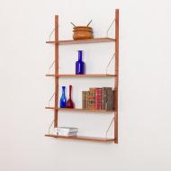 21020-4 shelves wall unit in teak 4 półki tekowe co miały być dla Pana z Sopotu-2