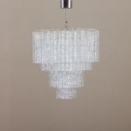 21041-4 tiers Italian chandelier with 63 handblown murano shades -1