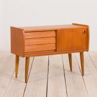 21061-vintage mid century small sideboard dresser-1