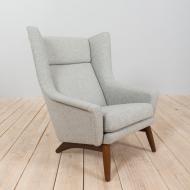 21071 Vintage Danish Model 4410 Armchair by Folke Ohlsson for Fritz Hansen, 1950s-10