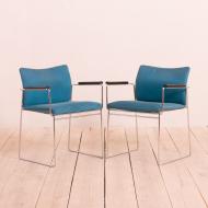 21086 Pair of Jano chairs by Kazuide Takahama for Gavina, Italy 70s-2