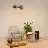21122 Italian extra large arc floor lamp by Goffredo Reggiani for Reggiani, 1960s-1