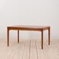 21134 Henning Kjaernulf teak extension table, Denmark, 1960s-1