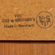 21134 Henning Kjaernulf teak extension table, Denmark, 1960s-9