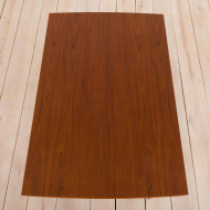 2125 Rectangular teak extension table with rounded edges-12