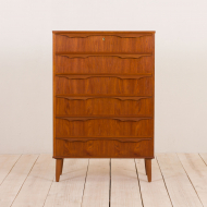 2128 Trekanten Danish teak chest of drawers-1
