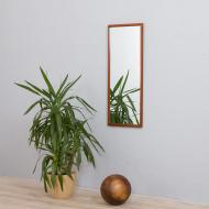 21320 Aksel Kjersgaard mid century Danish teak mirror frame, Odder, 1960s-1