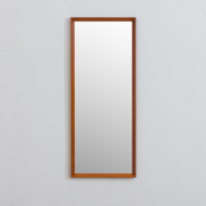21322 Mid century Scandinavian teak mirror frame JC Møbler Hedehusene, Denmark, 1960s-1