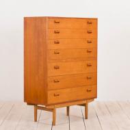 2144 Borge Mogensen 7 drawers teak dresser-2