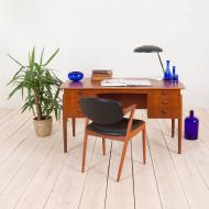 2169 Duńskie biurko tekowe w stylu Kai Kristiansen-1