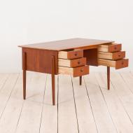 2169 Duńskie biurko tekowe w stylu Kai Kristiansen-4
