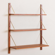 2171 cadovius style wall unit  with 3 shelves-2