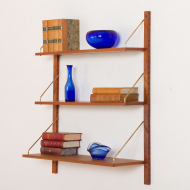 2171 cadovius style wall unit  with 3 shelves-6