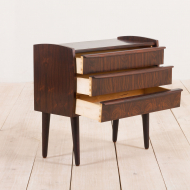 2175 Danish rosewood entry chest of drawers-nightstand from the 60s-6