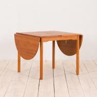 2193 Dansih drop leaf extensiont eak table -2