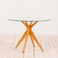 2198 Italian dining table in the style of Ico Parisi-1