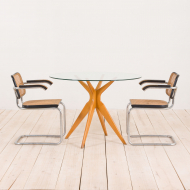 2198 Italian dining table in the style of Ico Parisi-3