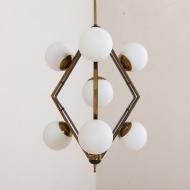 2206 Original Stilnovo lamp diamond shaped pendant chandelier-3