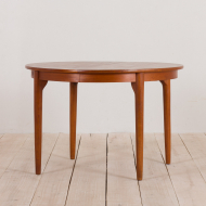 2225 Danish round extension table in teak-1
