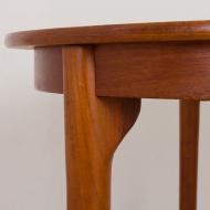 2225 Danish round extension table in teak-4
