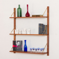 271A cadovius style wall unit  with 3 shelves-2