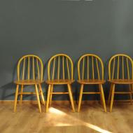 4 krzesła ilmari tapiovara 3e