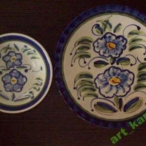 444953009_1_644x461_recznie-malowany-talerz-dekoracyjny-2miseczclaudio-bernini-26cm-okazja-gdansk