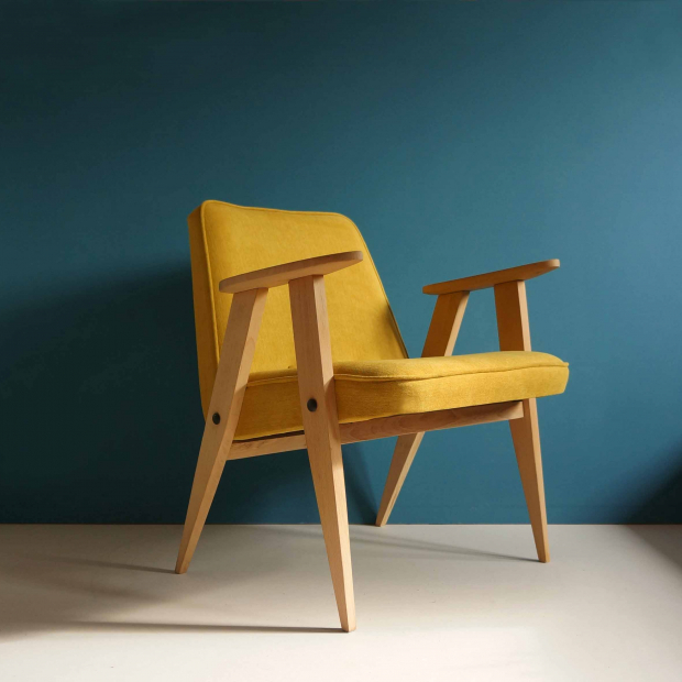 Fotel 366 J. Chierowski, Polska, lata 60. | Patyna.pl