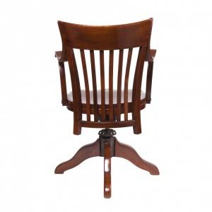 Amerykański fotel biurowy z mechanizmem sprężynowym_Antyki Sosenko_Kraków_8-780x780
