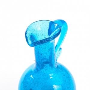 Autorski dzbanek z zatopionymi w szklanej masie bąbelkami powietrza-antyki-sosenko-krakow-2-780x780