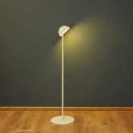 bankierka lampa podlogowa biala v