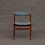 Blue Fire chair by Kai Kristiansen for Schou Andersen, 60s-2