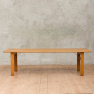 Borge Mogensen extra long solid oak coffee table-2