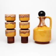 ceramiczny zestaw do napojów miodek (1)