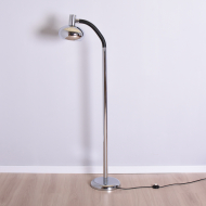 chromowana lampa podłogowa  masywna (1)