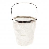 Cooler, naczynie na lód. Szkło mrożone, plater. Sygn. WMF-antyki-sosenko-krakow-1