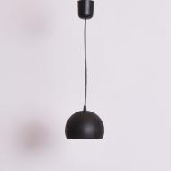 czarna kulka lakierowana po renowacji lampa (1)