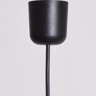 czarna kulka lakierowana po renowacji lampa (4)