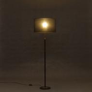 Danish black mid century lamp-4