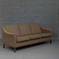 Danish mid-century sofa in wool upholstery-2